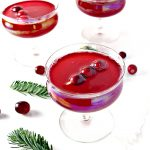 Ring in the New Year with this Cranberry Pomegranate Cocktail recipe! It adds just the right amount of pizzazz! | spiritedandthensome.com