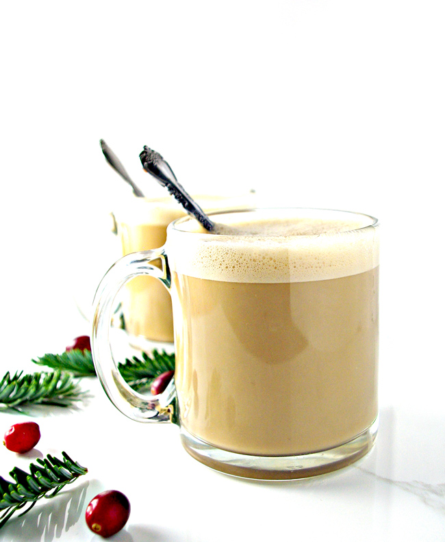Dairy-Free Vanilla Cashew Coffee is perfect for chilly mornings and a much-needed pick-me-up! | spiritedandthensome.com