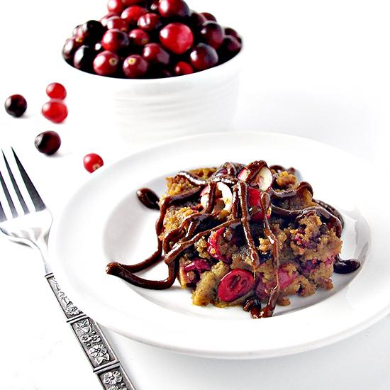 Paleo Cranberry Cake