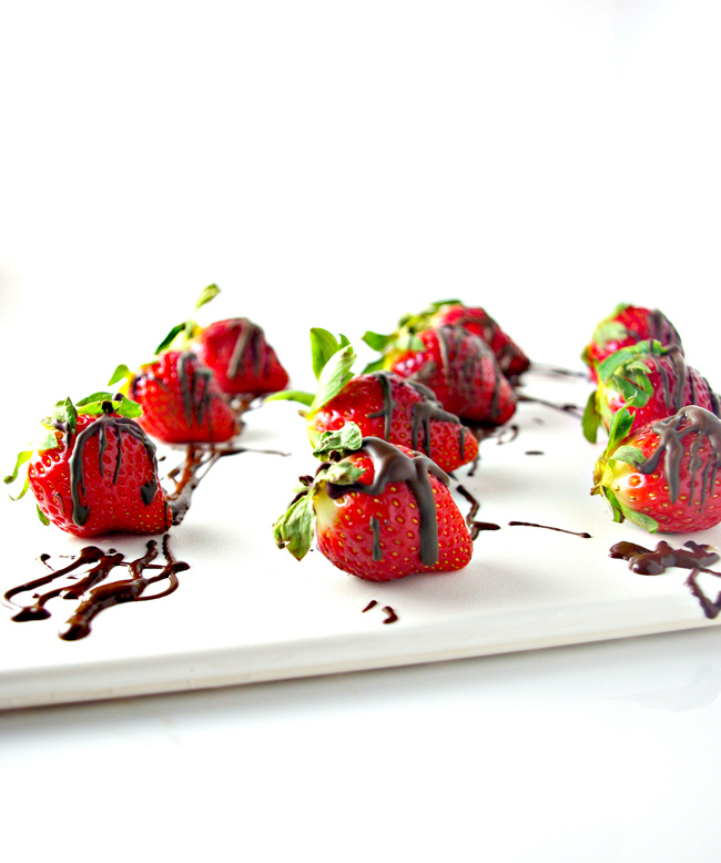 Save your moolah, and make your own Dairy-Free Chocolate-Dipped Strawberries! Vegan and gluten-free! | spiritedandthensome.com
