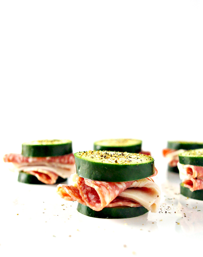 Deli-Style Cucumber Sandwiches are healthily gluten-free, grain-free, and dairy-free! The perfect brunch or snack idea! | spiritedandthensome.com