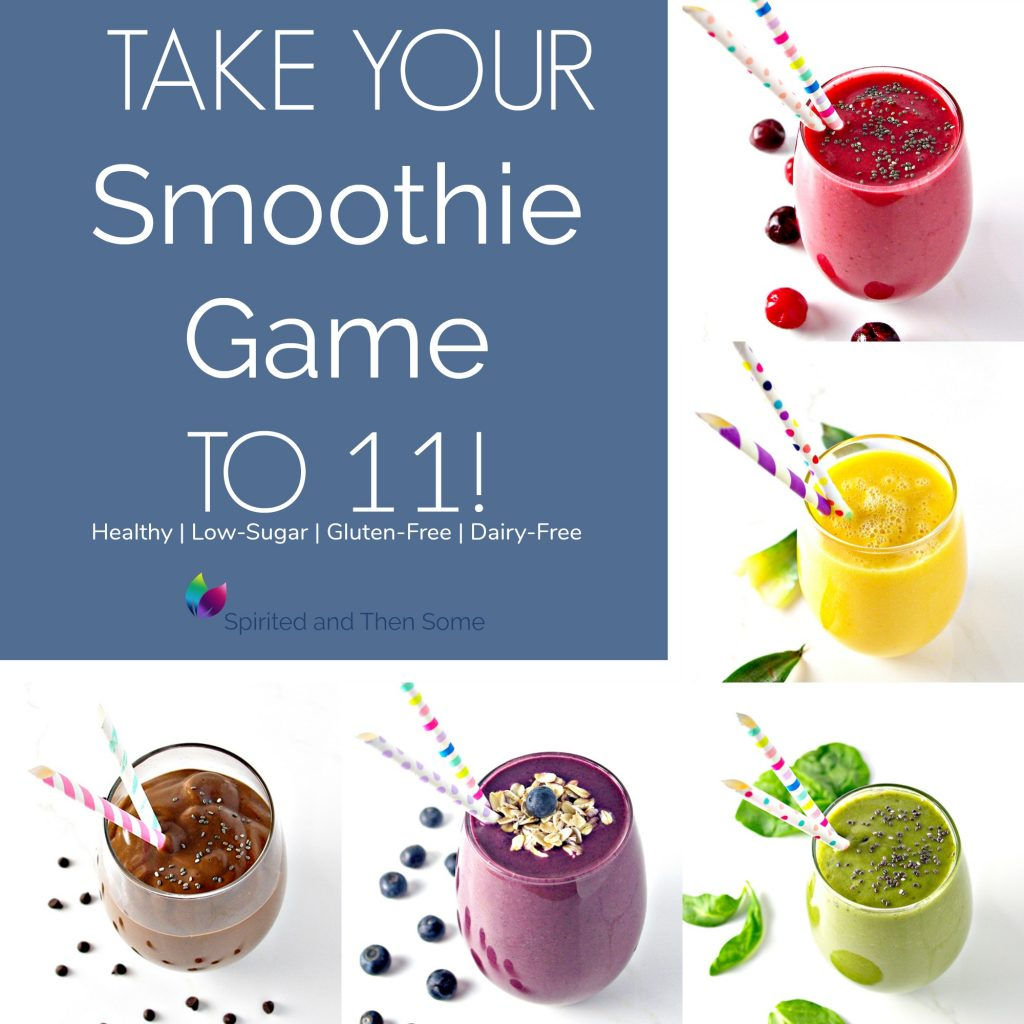 Take your smoothie game to 11 for healthy, delicious flavor! | spiritedandthensome.com