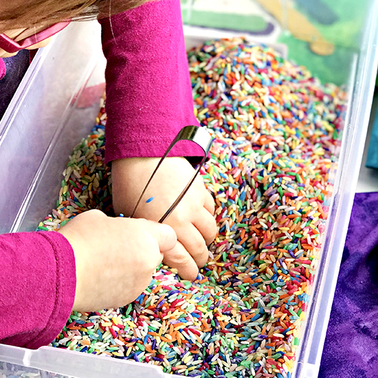 Sensory Play Ideas for Preschoolers that are easy to do! | spiritedandthensome.com