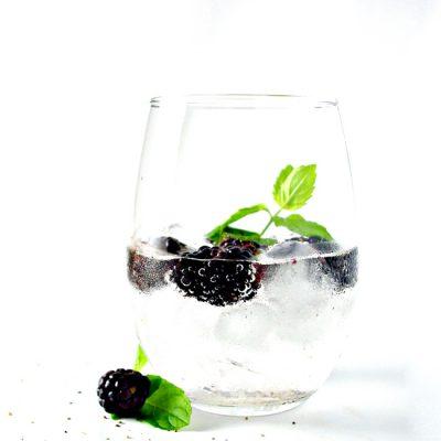 Blackberry Lemon Sparkling Water