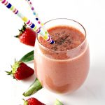 Tropical Fruit Power Smoothie is vegan, paleo, gluten-free, dairy-free, soy-free, and grain-free but BIG ON FLAVOR and hot on nutrients! | spiritedandthensome.com