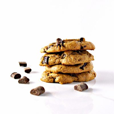 Chocolate Chunk Almond Butter Cookies are deliciously paleo, gluten-free, grain-free, dairy-free, and soy-free! | spiritedandthensome.com