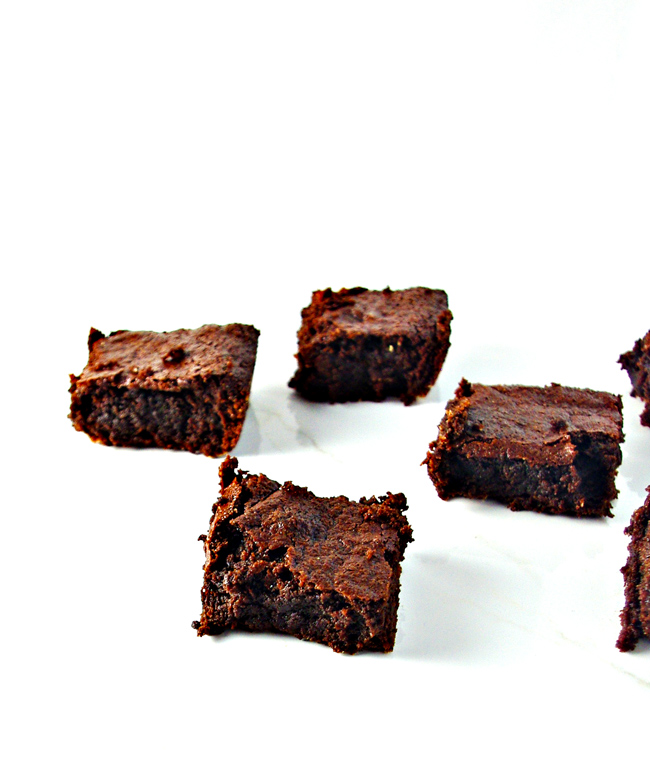 Fudgy Paleo Brownies are so delicious, you won't believe they are gluten-free, grain-free, dairy-free, and soy-free! | spiritedandthensome.com