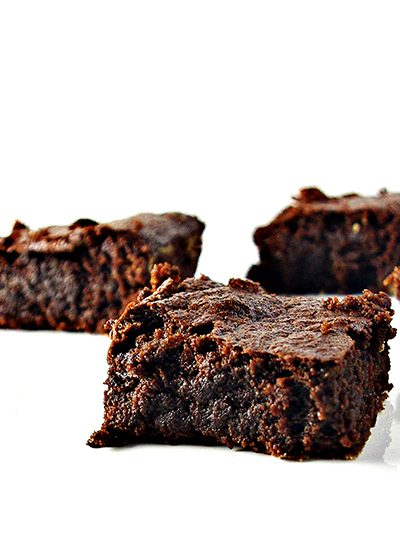 Fudgy Paleo Brownies are rich, creamy, and delectable! They are gluten-free, dairy-free, soy-free, and grain-free!   spiritedandthensome.com