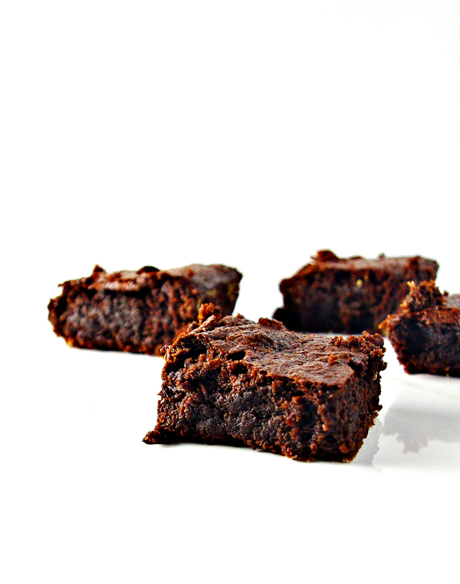 Fudgy Paleo Brownies are so decadent you won't believe they are grain-free, gluten-free, soy-free, and dairy-free, too! | spiritedandthensome.com