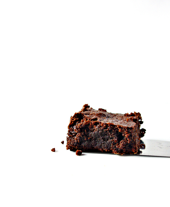 Fudgy Paleo Brownies are creamy, yummy, and totally gluten-free, grain-free, soy-free, and dairy-free, too!   spiritedandthensome.com