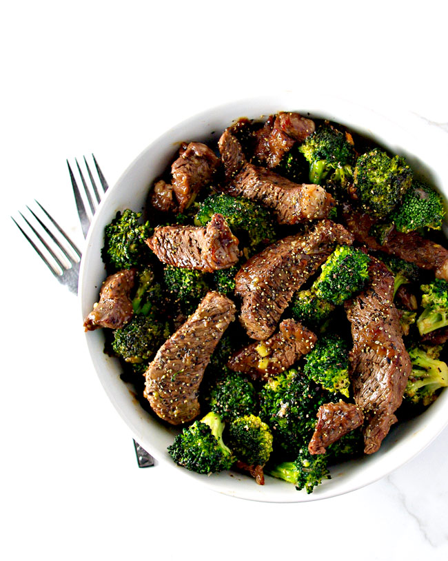 Soy-free Broccoli Beef Stir-Fry is a deliciously easy paleo dinner recipe the whole family will love! | spiritedandthensome.com