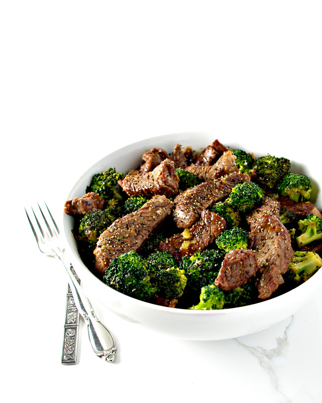 Gluten-free Broccoli Beef Stir-Fry is also paleo and a delicious easy family dinner recipe! | spiritedandthensome.com