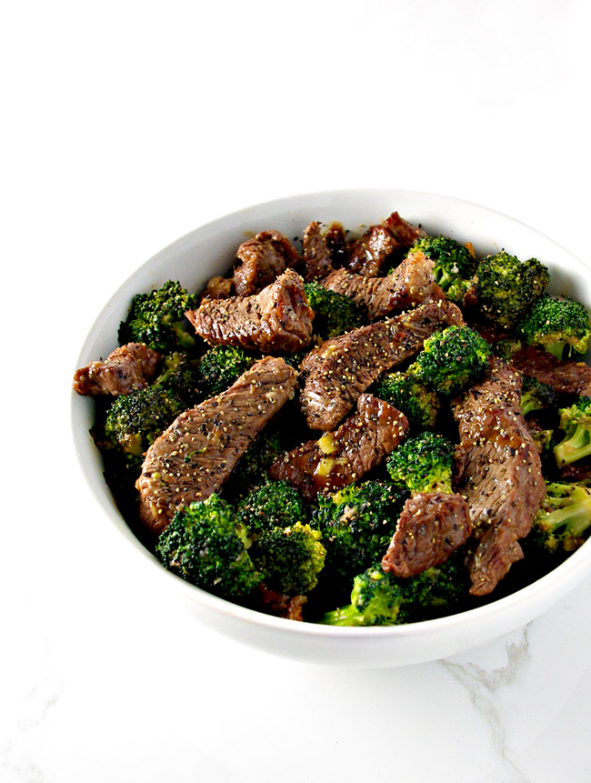 Broccoli Beef Stir-Fry is an easy paleo dinner recipe the whole family can enjoy! | spiritedandthensome.com