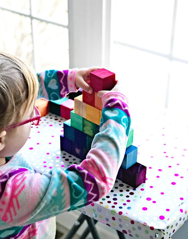 Make your own Grimm's pyramid! | spiritedandthensome.com