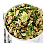 Cilantro Lime Chicken is a healthy gluten-free dinner recipe the whole family can enjoy!   spiritedandthensome.com