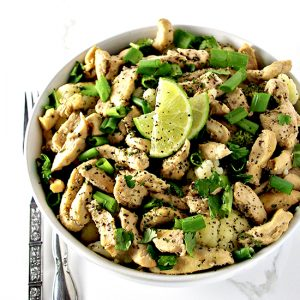 Cilantro Lime Chicken is a healthy gluten-free dinner recipe the whole family can enjoy! | spiritedandthensome.com