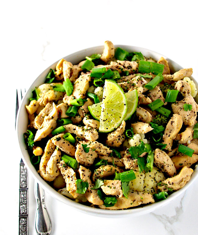 Cilantro Lime Chicken is an easy dinner meal everyone can enjoy! | spiritedandthensome.com