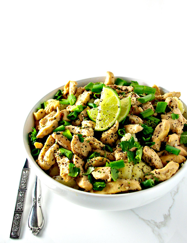Cilantro Lime Chicken is a healthy dinner recipe for the family! Soy-free, paleo, and big on flavor!   spiritedandthensome.com