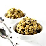 Egg-free Edible Cookie Dough is a delicious soy-free vegan recipe that can also be made paleo! | spiritedandthensome.com