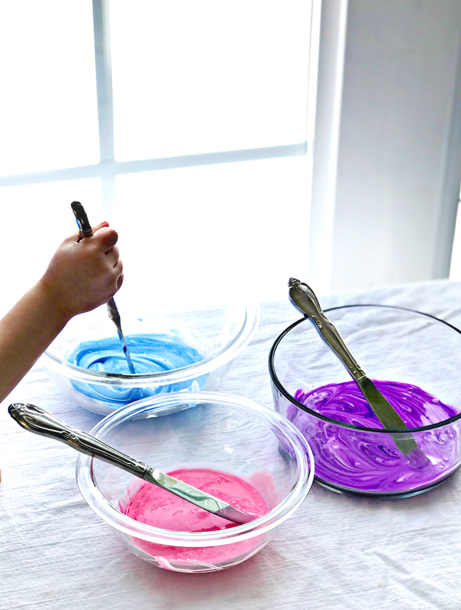 How to make Fluffy Slime with liquid watercolors! | spiritedandthensome.com