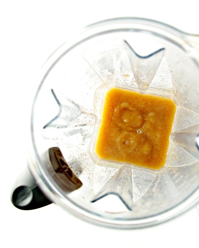 Paleo Pear Butter blended in a Vitamix! | spiritedandthensome.com