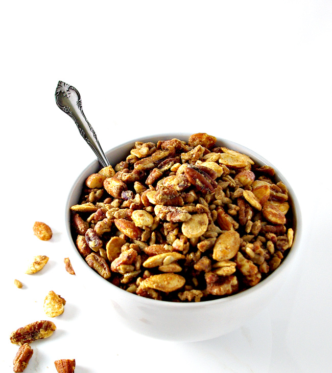 Homemade Paleo Granola is a delicious soy-free vegan breakfast recipe! | spiritedandthensome.com