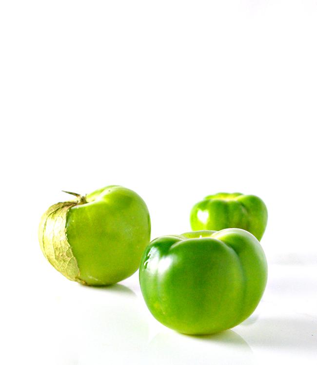 Fresh Tomatillos for Roasted Salsa Verde