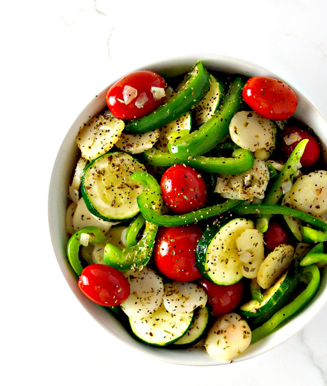 K-Hubs' Sauté is a delicious gluten-free vegan side dish recipe everyone can enjoy! | spiritedandthensome.com