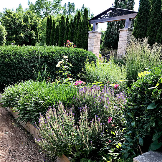 Lovely garden at Reiman Gardens in Ames, Iowa! | spiritedandthensome.com