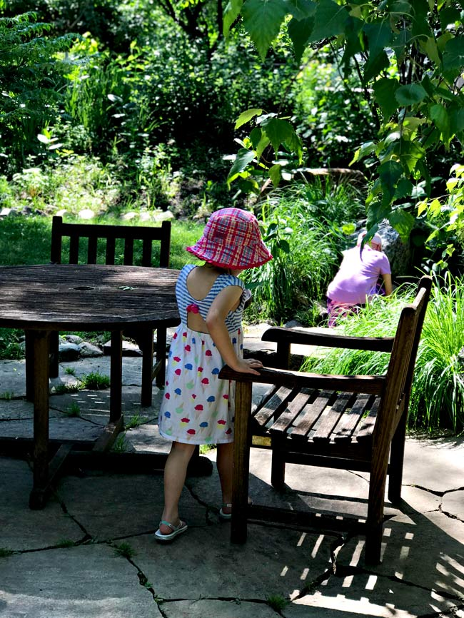 Nature play for children at Reiman Gardens in Ames, Iowa! | spiritedandthensome.com