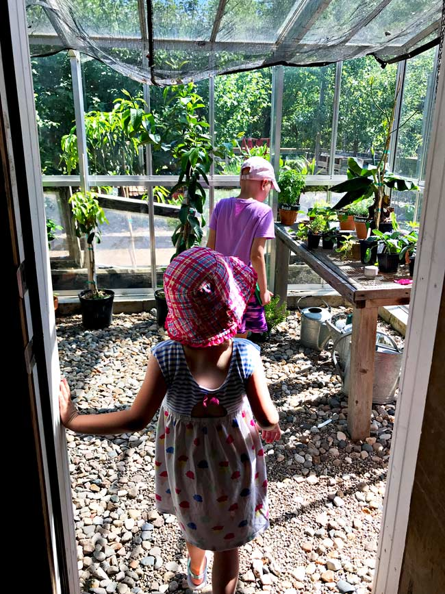 Toodle and Twinkle in the Potting Shed at Reiman Gardens in Ames, Iowa! | spiritedandthensome.com