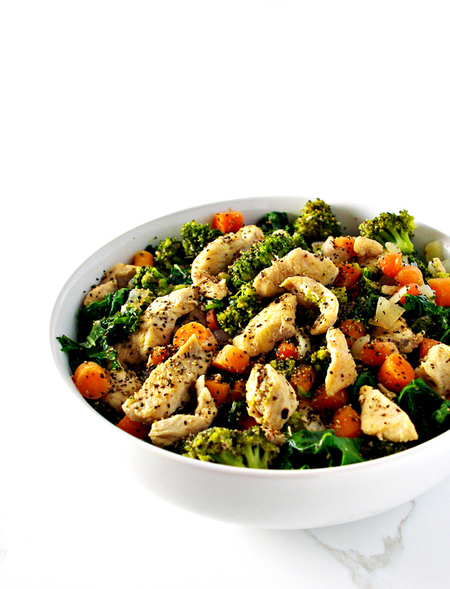Chicken Kale Stir-Fry is a delicious soy-free stir-fry recipe! | spiritedandthesome.com