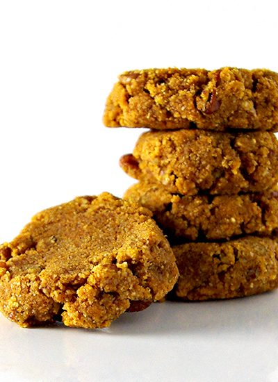Homemade paleo Pumpkin Spice Cookies are a mouthwatering snack treat! | spiritedandthensome.com