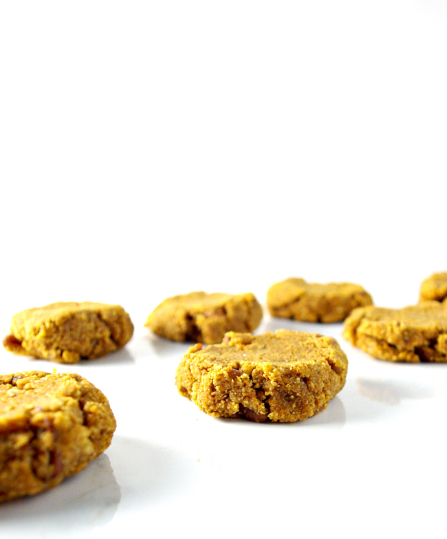 Pumpkin Spice Cookies are easy to make and are a delicious gluten-free cookie recipe! | spiritedandthensome.com