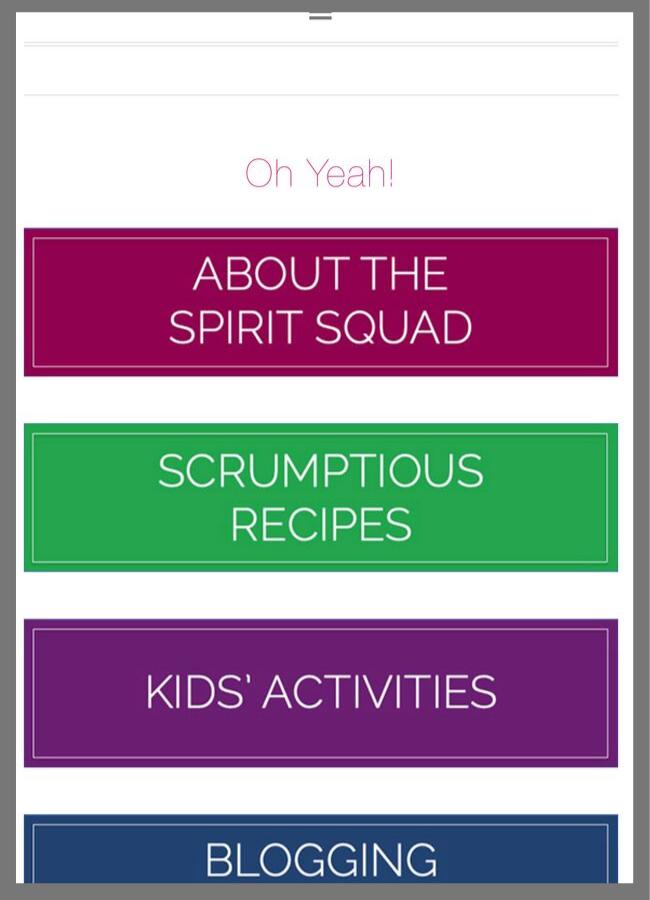 Scrolled screenshot of Instagram landing page for visitors! | spiritedandthensome.com