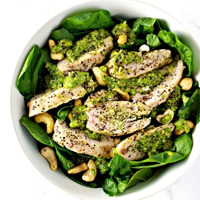 Pesto-Baked Chicken
