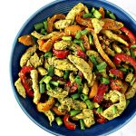 This Spicy Chicken Stir-Fry is a simple chicken stir-fry recipe for lunch or dinner! | spiritedandthensome.com