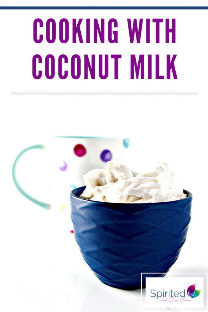 Cooking with coconut milk is easy for dairy-free and paleo baking! It's also perfect for cooking dairy-free dinner recipes, too! | spiritedandthensome.com