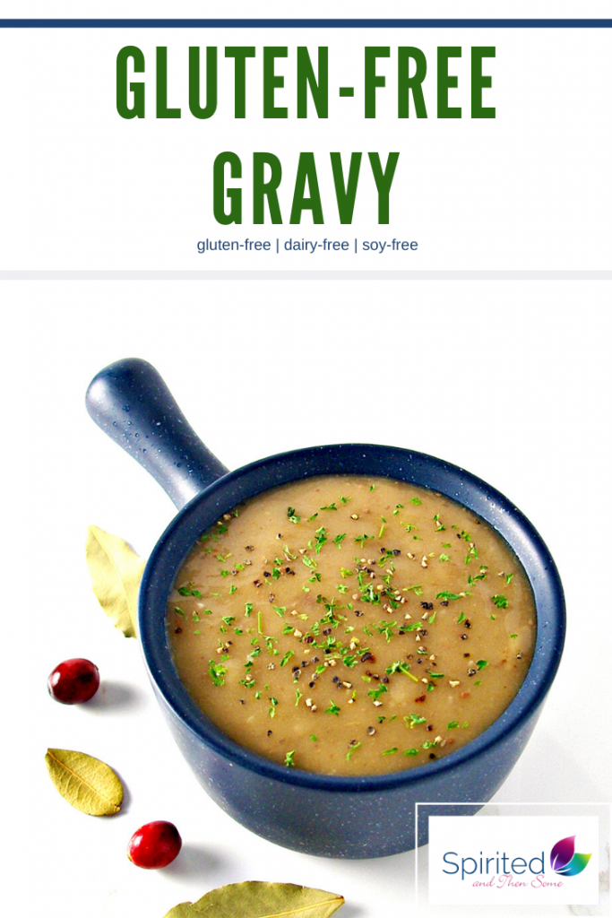 This recipe includes a few best practices for a delicious, clump-free Gluten-Free Gravy recipe! Thanksgiving and Christmas dinners (and leftovers!) never tasted so good! | spiritedandthensome.com