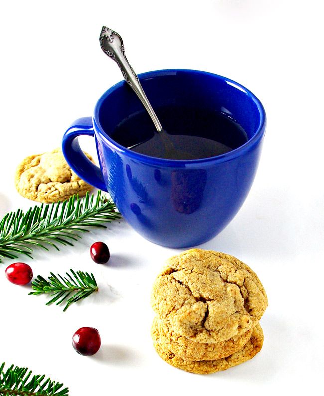 Buttery Almond Cookies are a delicious gluten-free soft almond cookie recipe for the holidays!   spiritedandthensome.com