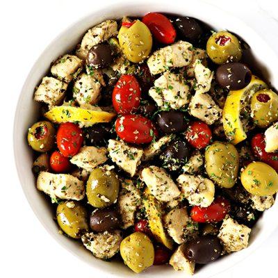 Mediterranean Chicken Sauté