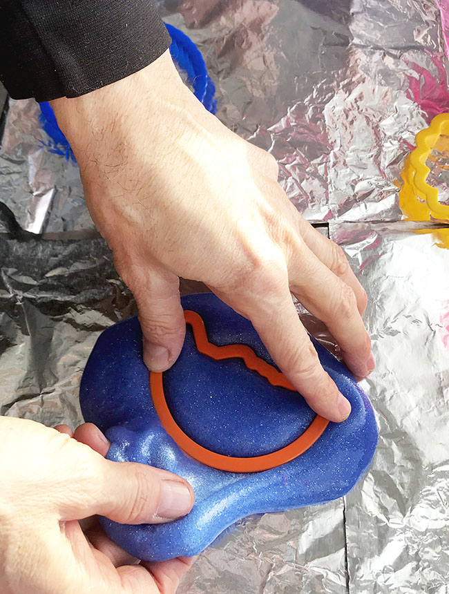 Sensory play slime recipes are great for family night activities and children of all ages (including parents)!   spiritedandthensome.com