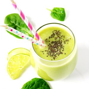 This Vanilla Citrus Smoothie made with almond milk, oranges, lemons, limes, and fresh ginger is a refreshing drink to start your day! Make it the night before for a ready-to-go, tantalizing breakfast!   spiritedandthensome.com