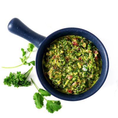 Spicy Chimichurri Verde Sauce