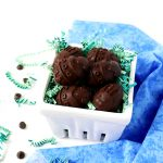 No-Bake Chocolate Almond Butter Easter Eggs are a sweet, easy vegan and gluten-free dessert treat! These chocolate eggs can be customized with your choice of sweetener, chocolate, and nut butter! | spiritedandthensome.com
