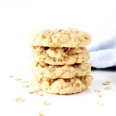 Gluten-Free Oatmeal Sugar Cookies