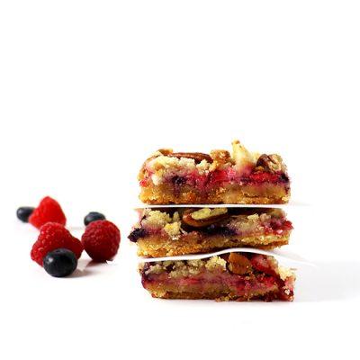 Mixed Berry Fruit Bars